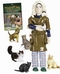 x CRAZY CAT LADY ACTION FIGURE