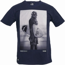 Star Wars Shirt - Chunk - Wookiee Surfer - navy