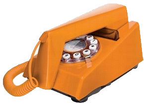 Retrotelefon Trim - Orange