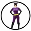 Catwoman Retro Kost&uuml;m Deluxe - 60er Jahre