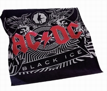 AC/DC Fleecedecke Black Ice