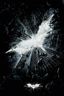 Batman - The Dark Knight Rises Poster Logo