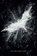Batman - The Dark Knight Rises  - Poster Logo