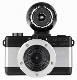 Fisheye Baby 110 Schwarz Metal
